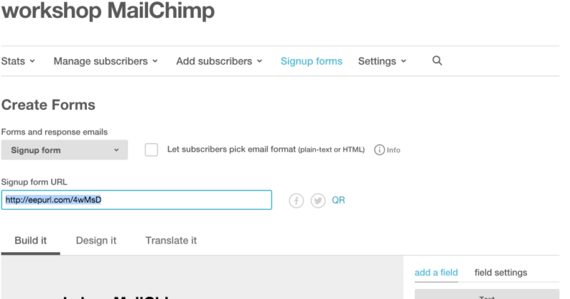 signup - dropdown