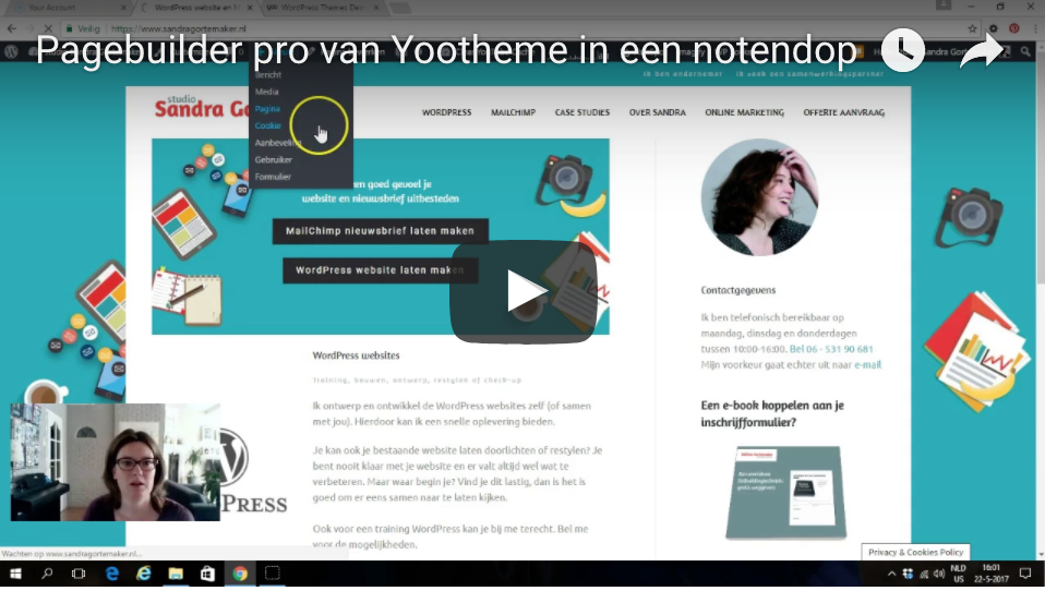 Pagebuilder Pro om zelf je layouts en website te maken